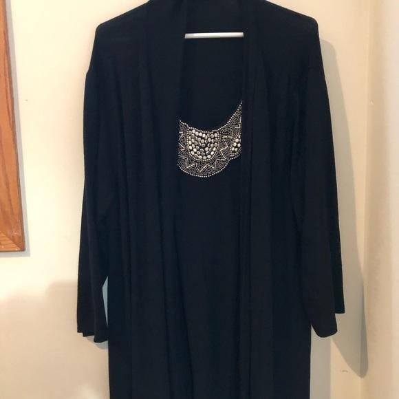 Haani Dresses & Skirts - Draped black dress